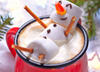 Кофе-снеговик