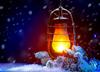 Снежный фонарь