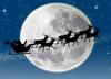 Санта-Клаус и олени